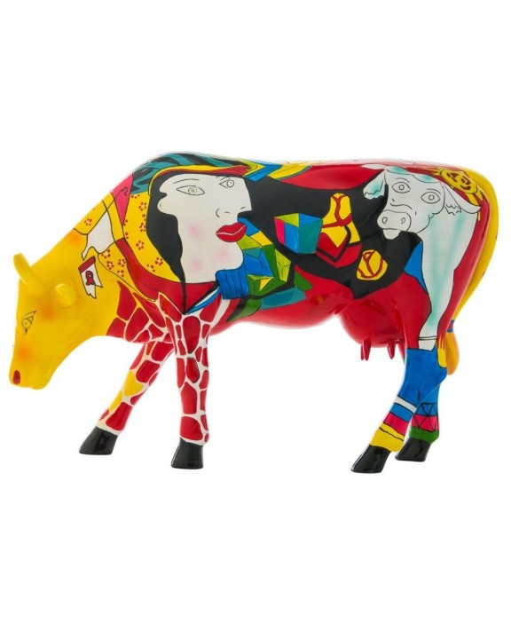 Figurka L Hommage to Picowso s African Period Cow Parade