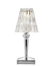 Lampa stołowa BATTERY chrom KARTELL