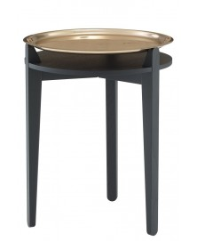Stolik SIDE TABLE miedziany LIGNE ROSET